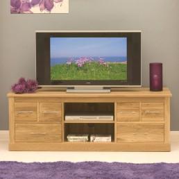 Contempo Oak Television Cabinet