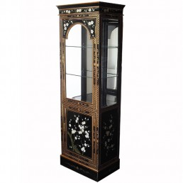 Chinese Cherry Blossom Cabinet Tall