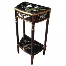 Chinese Cherry Blossom Hall Table