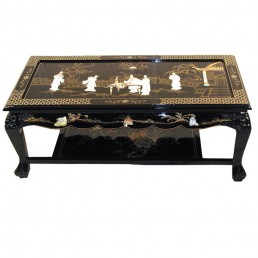 Chinese Black Coffee Table