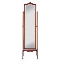 Olivia Mahogany Cheval Mirror
