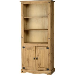 Onil Pine Display Bookcase