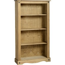 Onil Pine Medium Bookcase