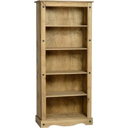 Onil Pine Tall Bookcase