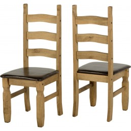 Onil Pine Chair Pair