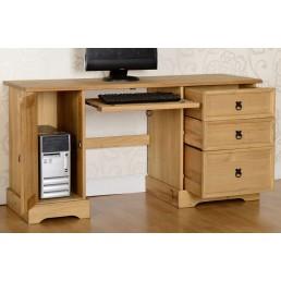 Onil Pine Computer Desk