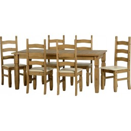 Onil Pine Dining Set