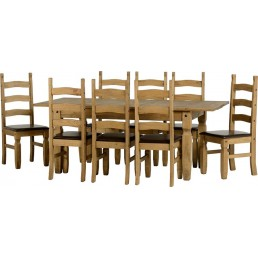 Onil Pine Extending Dining Set