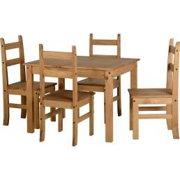 Onil Pine Budget Dining Set