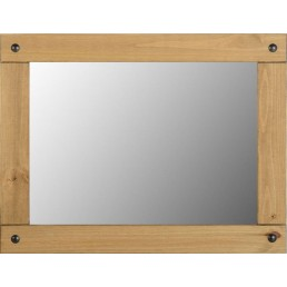 Onil Pine Large Wall Mirror