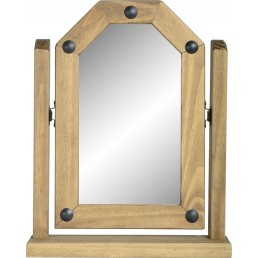 Onil Pine Single Swivel Mirror