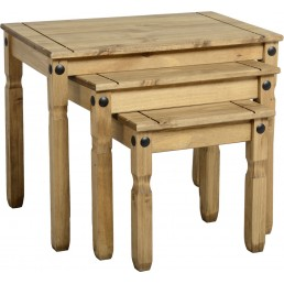 Onil Pine Nest Of Tables