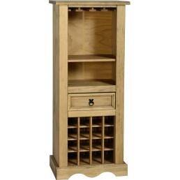 Onil Pine Wine Rack