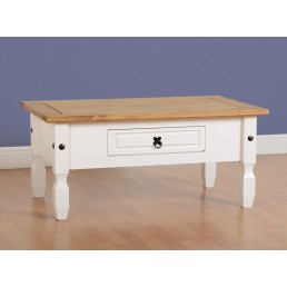 Onil White Coffee Table