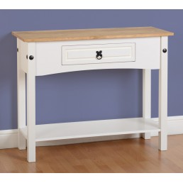 Onil White Console Table