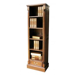 Pillar Mahogany Tall Bookcase