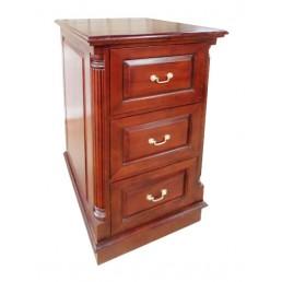 Pillar Mahogany Filing Cabinet Large