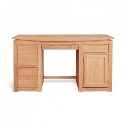 Serpentine Oak Home Office Desk