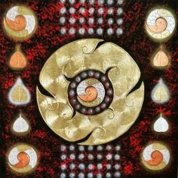 Thai Abstract Line Art Yantra