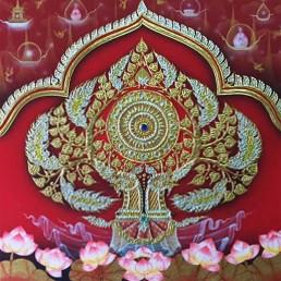 Thai Art Amazing Thai Bodhi Tree