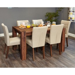 Shiro-Mayan Medium Dining Table