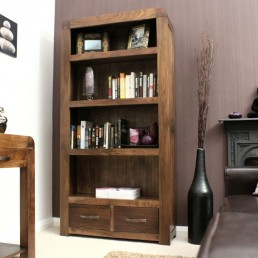 Art Deco Walnut Bookcase