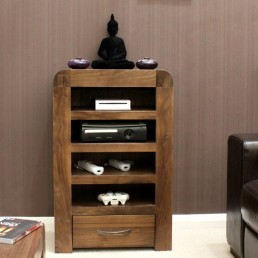 Art Deco Walnut Entertainment Unit