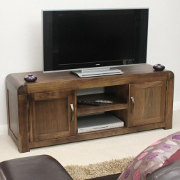 Art Deco Walnut TV Cabinet