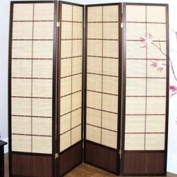 Matsu Walnut Shoji Screen