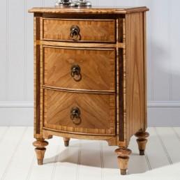 Spire Walnut Bedside Cabinet