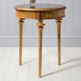 Spire Walnut Circular Table
