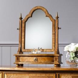 Spire Walnut Dressing Table Mirror