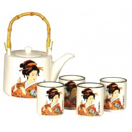 Japanese Lady Teaset