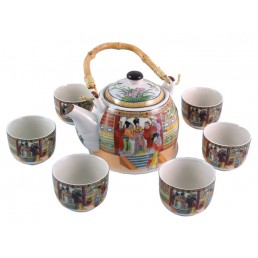 Chinese Palace Ladies Teapot Set
