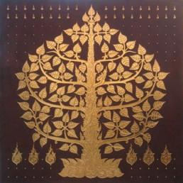 Thai Art - Phodhi Gold Tree 4