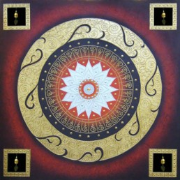Thai Art - Lotus 3