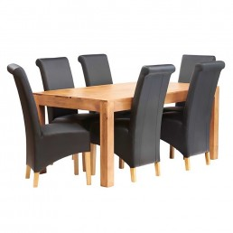 Toko Light Mango Dining Set 4