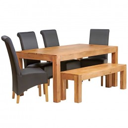 Toko Light Mango Dining Set 6