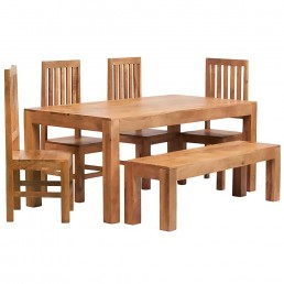 Toko Light Mango Dining Set 5