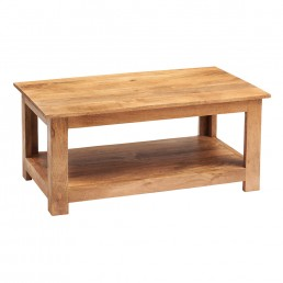 Toko Light Mango Coffee Table Open