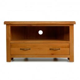 Uncle Oak Corner Tv Cabinet
