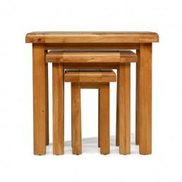 Uncle Oak Nest of 3 Tables