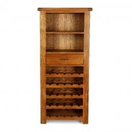 Uncle Oak Tall Wine Cabinet