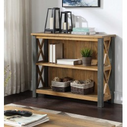 Reclaimed Low Bookcase
