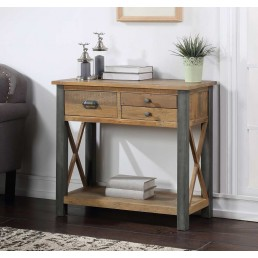 Reclaimed Small Console Table