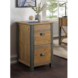 Reclaimed Two Drawer Filing Cabinet