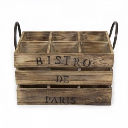 Cult Vintage Style Wine Crate