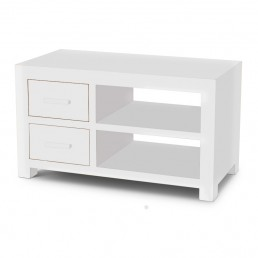 White Cube TV Cabinet
