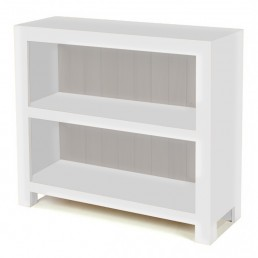 White Cube Low Bookcase