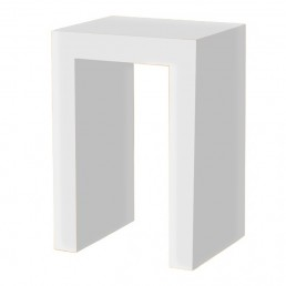 White Cube Occasional Table